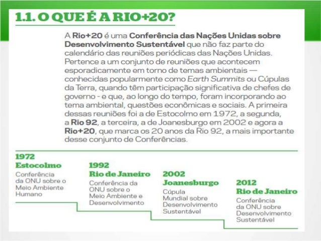 RIO+20 E O BRICS