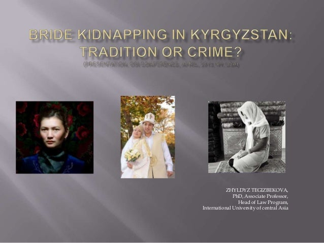 Bride kidnapping: tradition or crime?
