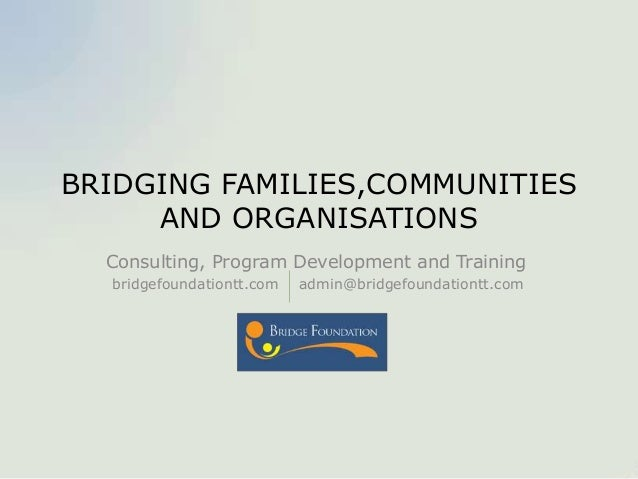 Bridge foundation presentation