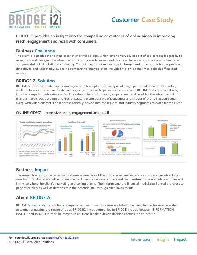 BRIDGEi2i case study - Customer reach and engagement