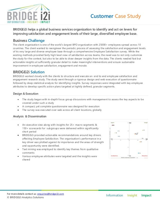 Customer Case Study     BRIDGEi2i helps a global business services organization to identify and act on levers for     impr...