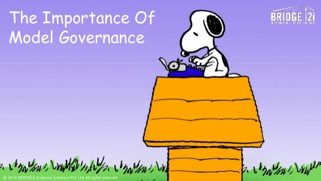 """the importance of governance The importance of it governance posted on september 1, 2016 by adam kovitz gartner defines it governance (itg) as """"the processes that ensure the effective and efficient use of it in enabling an organization to achieve its goals."""