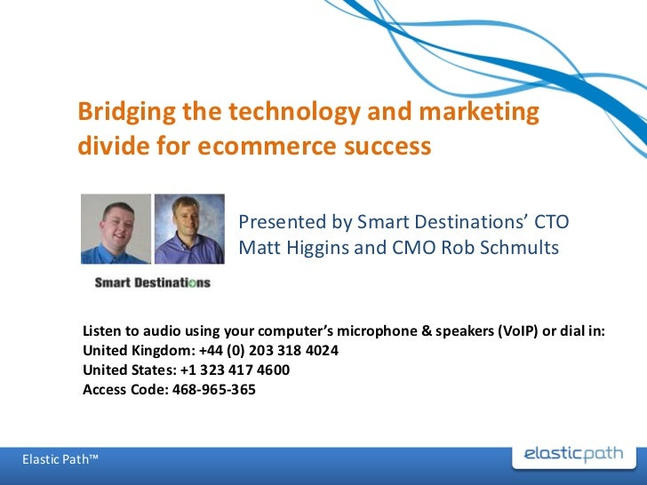 Bridging the Technology and Marketing Divide for Ecommerce Success