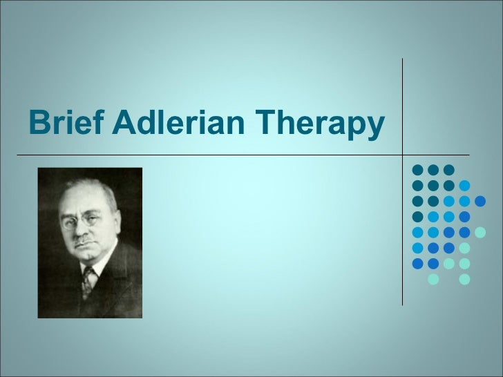 Brief Adlerian Therapy
