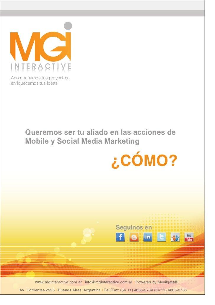 Mobile y Social Media Marketing