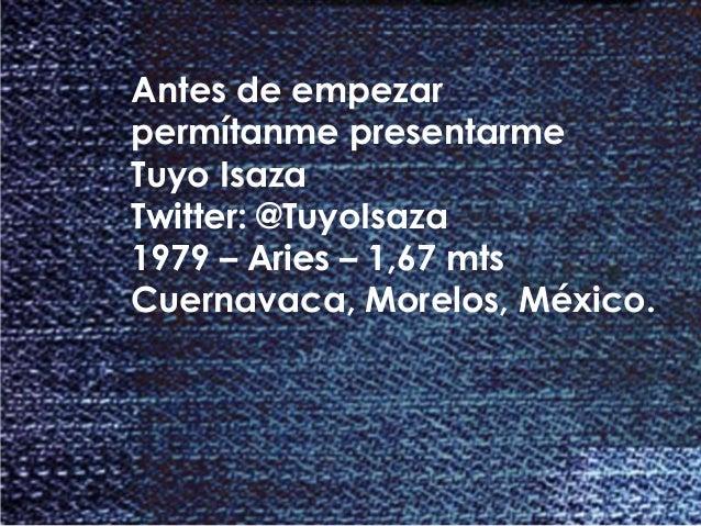 Brief con @TuyoIsaza