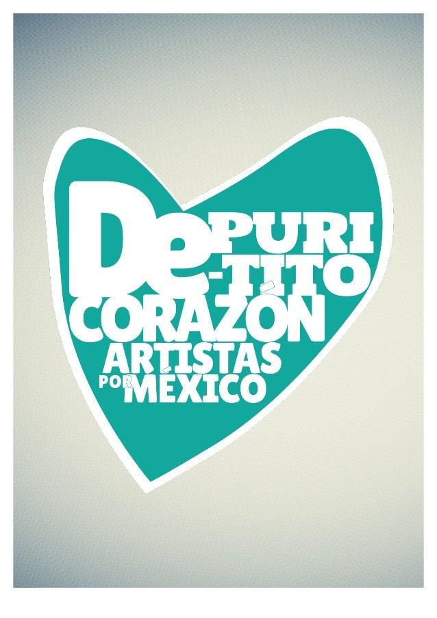 """BOLETÍN """"DE PURITITO CORAZÓN – ARTISTAS POR MÉXICO"""" Desde el pasado viernes 13 de Septiembre, el huracán """"Ingrid"""" que post..."""