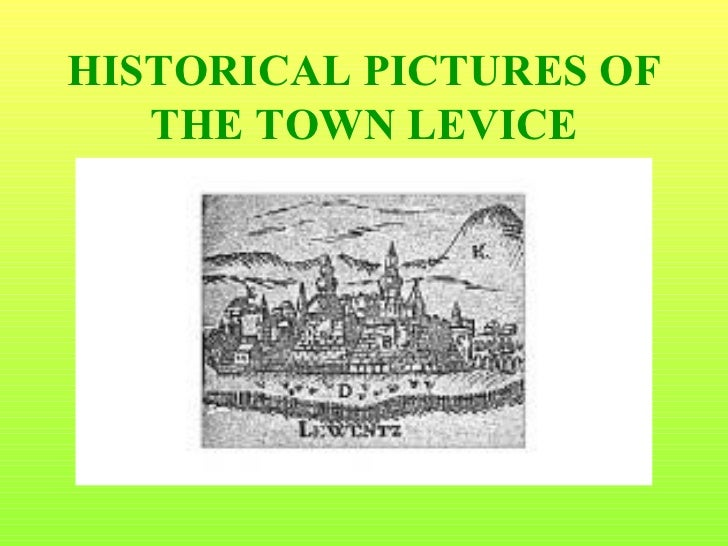 Brief history of the town levice