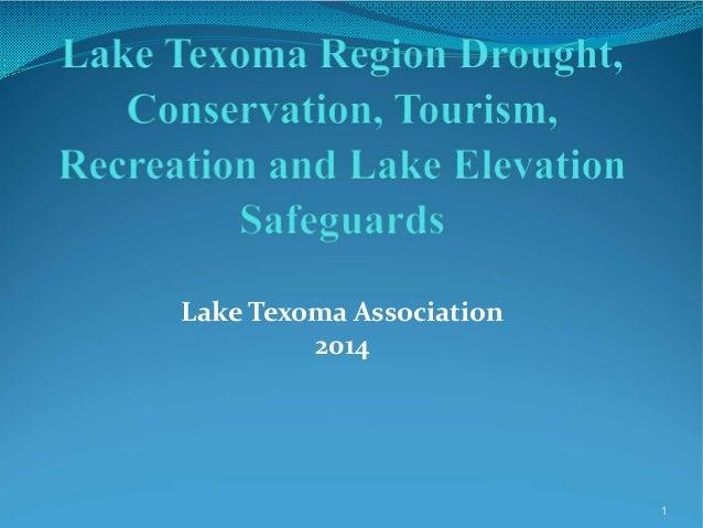 Lake Texoma Association 2014  1