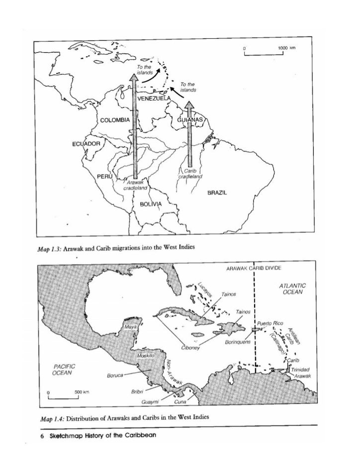 Brief notes on the tainos