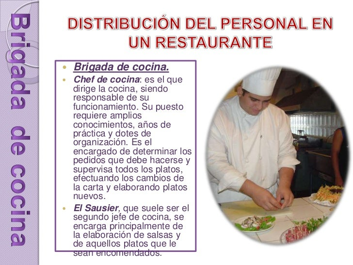 Servicio a la mesa abril 2014 for Distribucion cocina restaurante