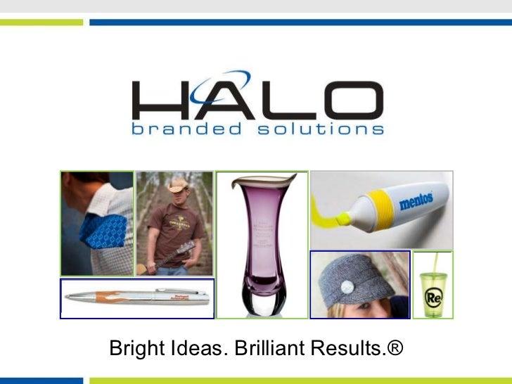 Bright ideas.brilliant results