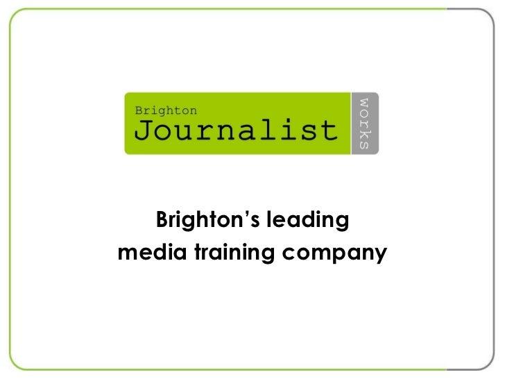 Brighton Journalist Works