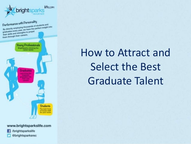 How to Attract and Select the Best Graduate Talent