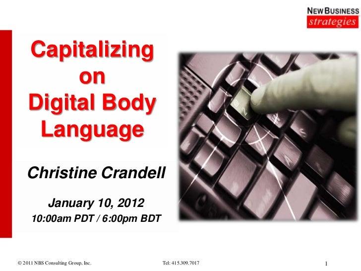 Deciphering Your Prospects Digital Body Language