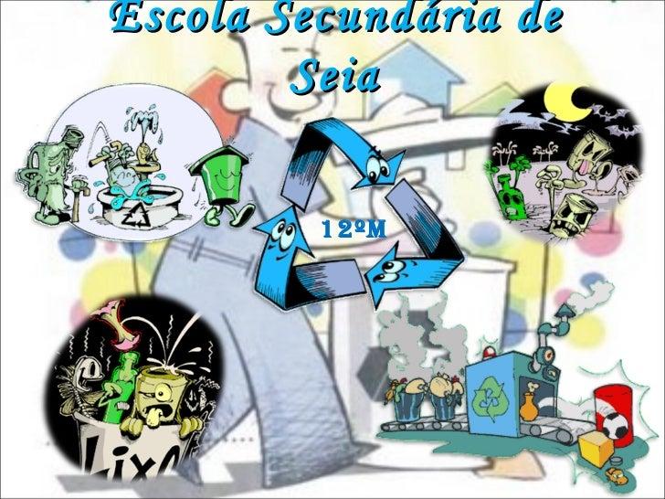 Escola Secundária de Seia 12ºM