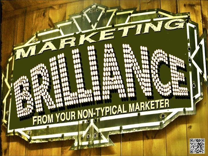 Marketing Brilliance - Resume Overview