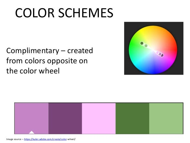 Color Wheel Powerpoint Color-wheel/ Color Schemes