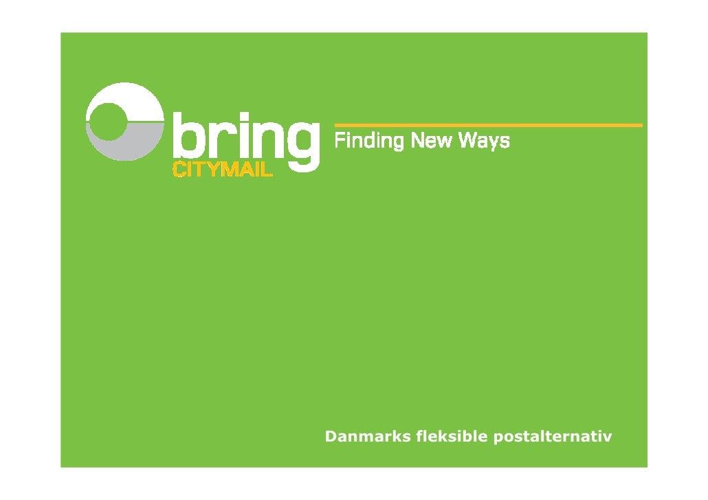 Danmarks fleksible postalternativ