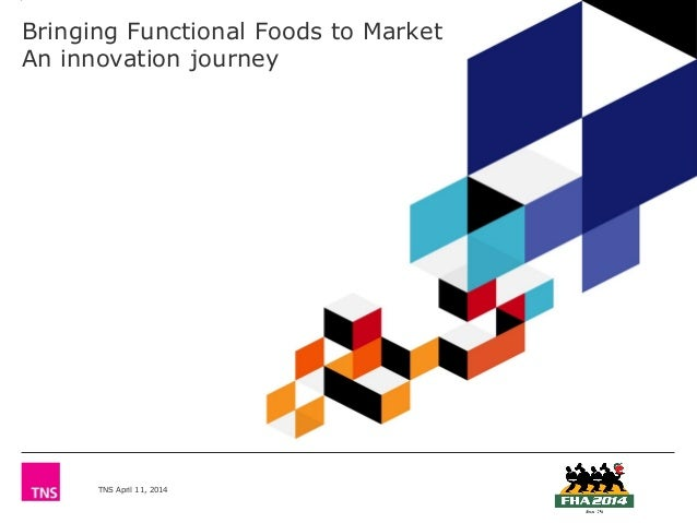 TNS April 11, 2014 Bringing Functional Foods to Market An innovation journey