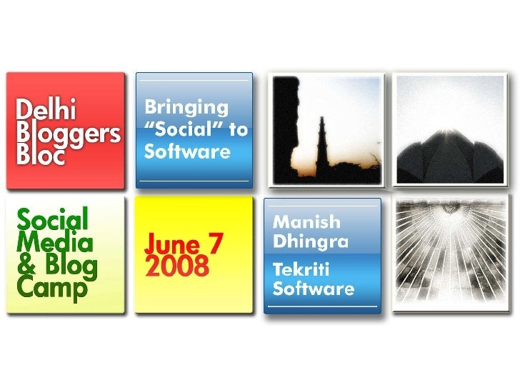 """Bring \""""Social\"""" to software"""