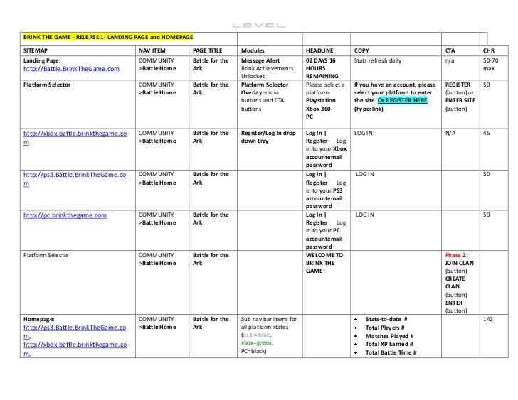 Word version content matrix UI