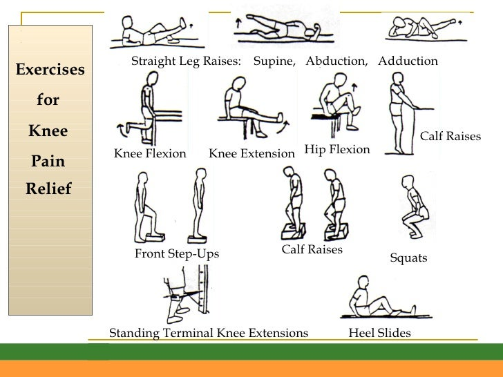 Exercises for knee pain relief penmai community forum exercises for knee pain relief ccuart Image collections