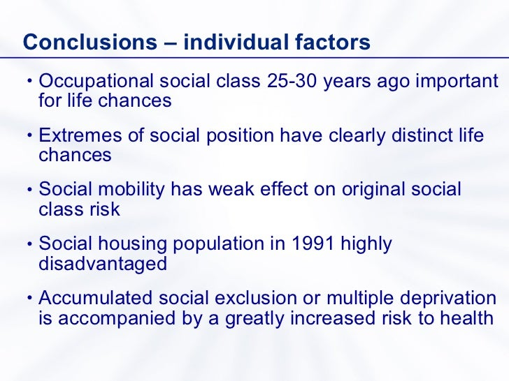 social exclusion deprivation Abstract social exclusion manifests itself in the persistent relative lack of an individual's access to functionings compared with other members of society, and we model it as being in a state of deprivation over time.
