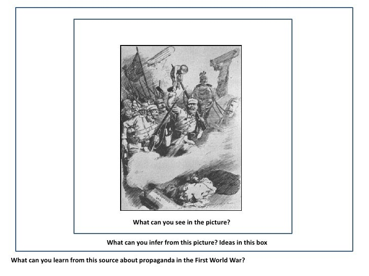 What can you see in the picture?                               What can you infer from this picture? Ideas in this boxWhat...
