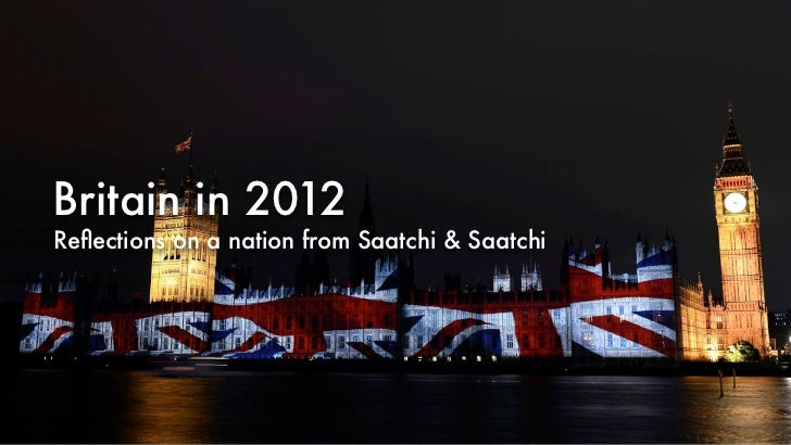 Britain in 2012Reflections on a nation from Saatchi & Saatchi