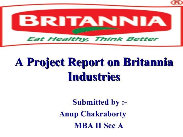 Britnnia Biscuits Case Study