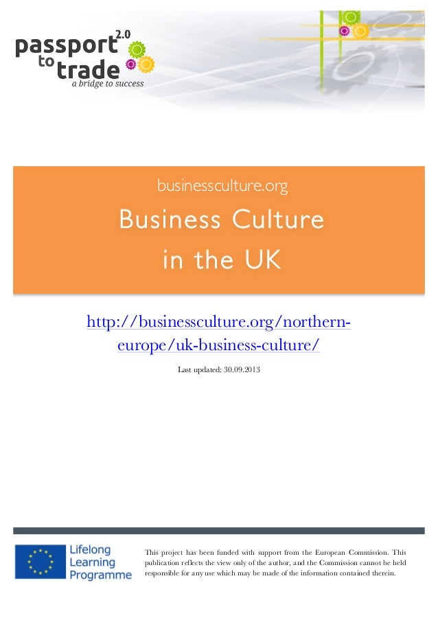 British business culture guide - Learn about the UK