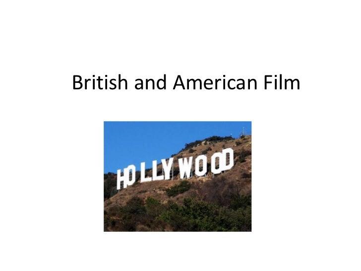 British and american film