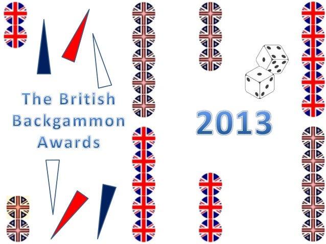 British Backgammon Awards 2013