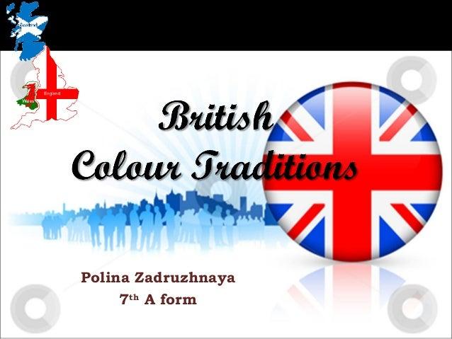 British colour traditions