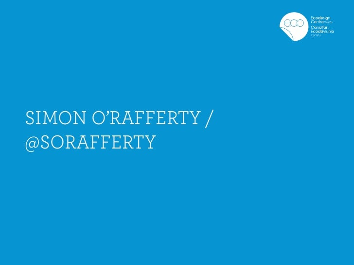 SIMON O'RAFFERTY /@SORAFFERTY