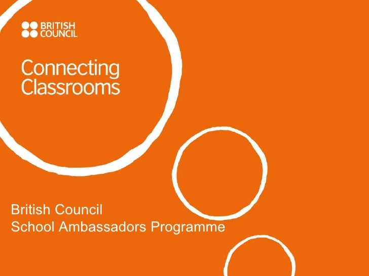 British Council School Ambassador Programme
