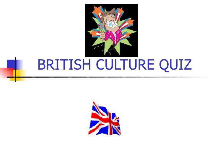 British Culture Quiz09