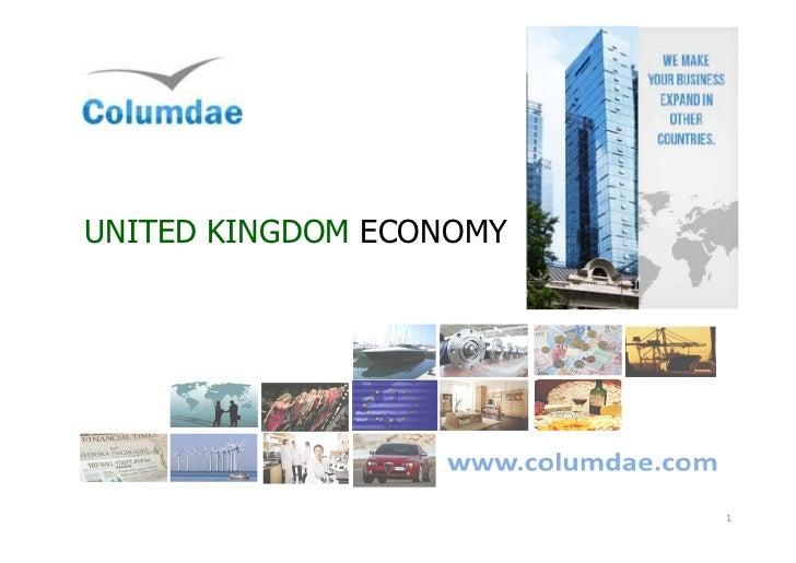 British economy presentation