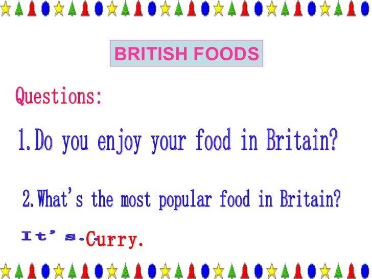 British food