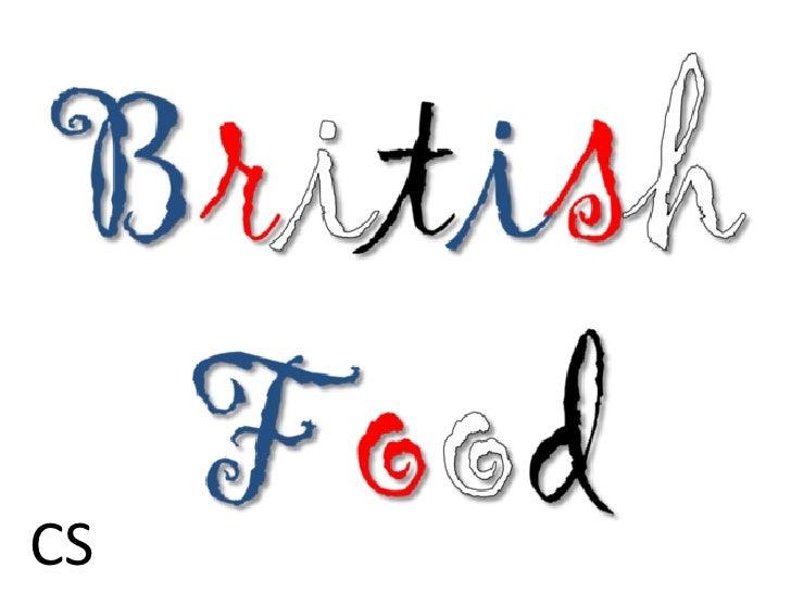 British food cs