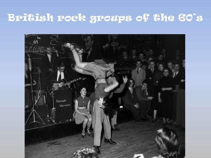 British rock groups of the sixties