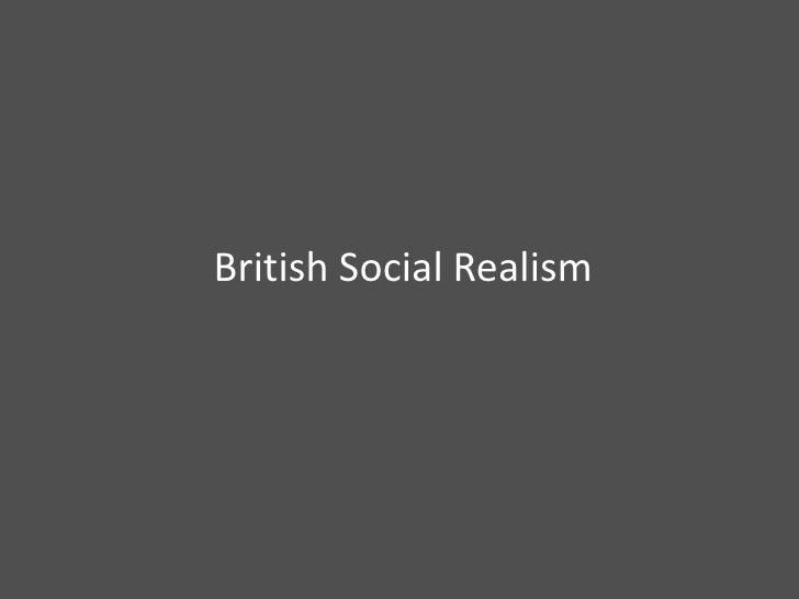 British Social Realism