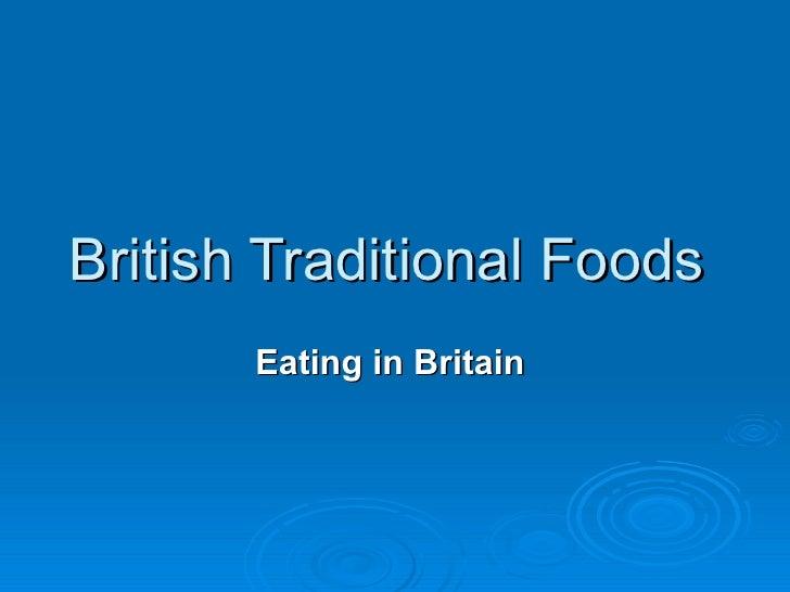 Britishtraditionalfoods