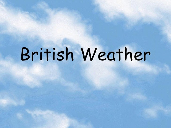 British weather cm