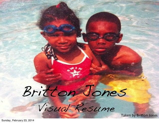 Britton Jones Visual Resume