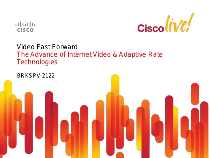Cisco Video Data Explosion