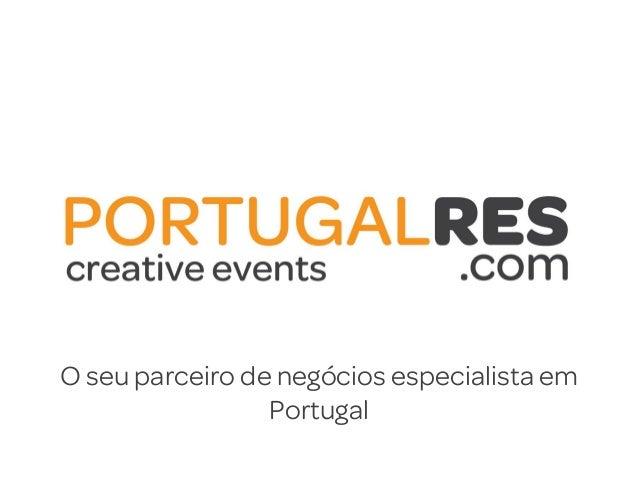 O seu parceiro de negócios especialista emPortugal