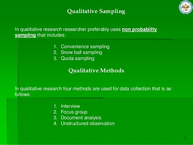 convenience sampling in research methodology Sampling methods are classified as either convenience sampling is used in exploratory research where the researcher is interested in getting an.