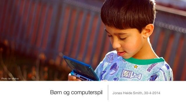 Børn og computerspil